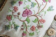 Jocobean Embroidery