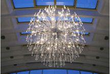 Nadrozmerné lustre / Typy keď potrebujete do domu alebo komerčných priestorov veľký luster, ktorý väčšinou v obchodoch nenájdete.