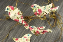 Beautiful Paper / Things to make with patterned paper pieces.