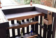 Pallets ideas for bar