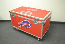 Sports Trunks / A look at Rhino trunks used for sports. Support your favorite team with a personalized trunk!