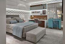 Design de Interiores - Quarto feminino