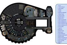 planimetria nave ficción / taller creativo, trabajo ficción