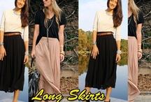 Love long skirts/ great new fashion