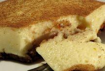Crustless milk tart