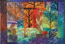 Wall quilts and fiber art / by Cheryl Robson