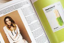 Eyerepublic pages / Eyewear fashion magazine