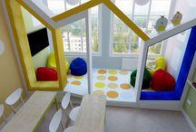 Children Room in a Hospital / Multi-zone for children