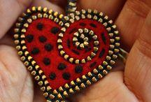 cuore spilla