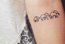 Lánytestvér tetoválás