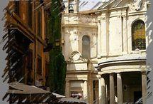 Appunti romani / Foto-disegni per questi APPUNTI-ARTE-FATTI presi con quella sempre rinnovata meraviglia che ROMA sa suscitare