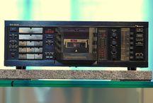Nakamichi / Nakamichi Vintage Retro Stereo HI-Fi Equipment