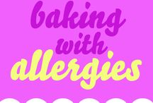 baking with allergies / It can be tough to bake when you have allergies, so we're here to help! If you don't fancy giving these recipes a go, there's always our gluten, wheat or dairy free cakes!