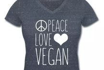vegan t-shirts for women / Find your perfect t-shirt with a vegan quote to spread the word.