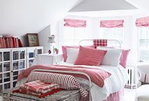Home: i love this color & i love gingham