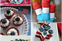 4th Of July Food / Picnic & Cookout Ideas for a great Independence Day!!! / by Suzette Scarbrough