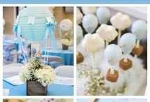 {Sweet Table} Hot Air Balloon Party