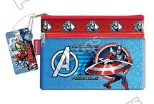 Cartucheras Capitán América / Línea Morrales P.bags Primavera Regresa a Clases con TODO