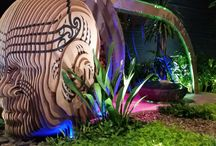 'Modern Day Maui' / Adam Shuter from Shuter Design Company represented New Zealand at the 2016 Singapore Garden Festival with 'Modern Day Maui' -award bronze medal