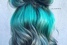 fun-colored hair!