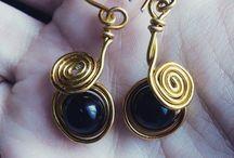 My wire wrap jewelry