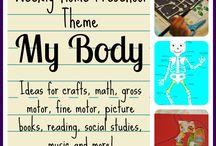 Theme: my body