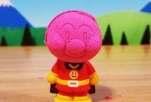 アンパンマン アニメ❤おもちゃ 砂遊びdeカレーパンマン+しょくぱんマン+アンパンマン
