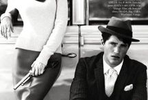 "Fashion and film: Bonnie and Clyde / A look at the fashion of the ""Bonnie and Clyde"" movies, including related fashion editorials. More here: http://mylusciouslife.com/luscious-movies-bonnie-clyde/"