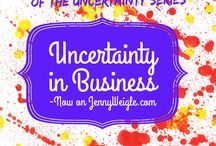 The Uncertainty Series / A blog series about uncertainty. Learn more at http://bit.ly/1JtoUeQ.