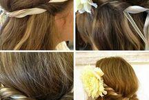 Peinados, Colores, largos y ondas