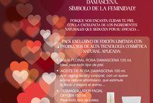 San Valentín / Para #sanvalentin, celebramos el #amor con el glamour de la rosa damascena, símbolo de la #feminidad.