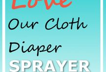 Everything is coming up Cloth Diapers