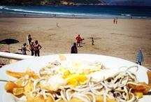 Pleasures on Malpica's Beach / Food, drink and love from Malpica's beach