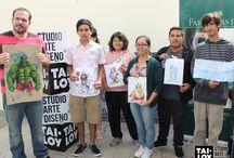 """Taller de Cómic """"Creación de personajes"""" / Y así fue nuestro taller de cómic, llevado a cabo el sábado 25 de Abril. Gracias a los artistas participantes, quienes plasmaron todo su arte a través de diversas técnicas aprendidas. Gracias a Casa Pausa y Artistas Faber-Castell Perú ."""