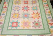 30's reproduction quilts / Quilts made with cheerful 30s reproduction fabrics.