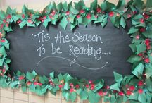 Displays: December / Bulletin Board and Display ideas for the month of December / by River Valley Middle Library Media Center