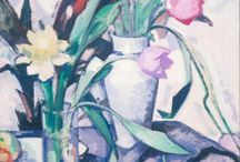 [1907 - 1929] Scottish Colourists / Group of four Scottish artists, who were among the first to introduce the intense colour of the French fauve movement into Britain in the 1920s. S. J. Peploe (1871—1935), J. D. Fergusson (1874—1961), G. L. Hunter (1877—1931) and F. C. B. Cadell (1871—1935).