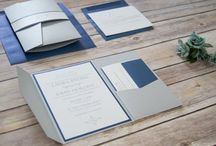 Modern Elegant Wedding Invitations