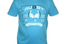 Collection Rudby / Voici la collection de la marque Rudby. Parce que Rude est le Rugby, Rudby est la seule marque qui assume le côté parfois violent du rugby.