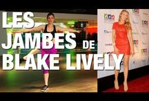 Fitness jambes Blake lively