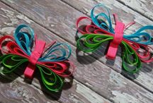 Hair Bows / by Heather Burgess