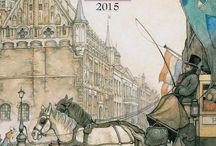 Anton Pieck kalenders en agenda's - calenders