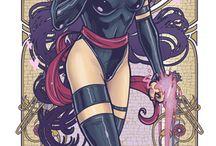 Psylocke / Mariposa Mental tiene habilidades telepáticas naturales