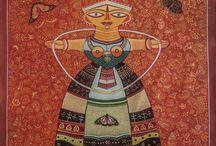 Works of Artist Bhaskar Lahiri