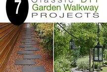 GARDENING - WALKWAYS & WATER FEATURES