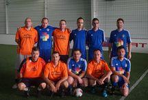 Notre équipe de foot en salle / Présentation de notre superbe équipe de foot en salle :)