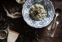 Dark & Savoury / Inspirational dark and moody savoury food photography.