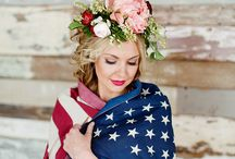She Said All American Wedding / In Honor & Celebration of our Country!
