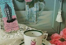 食器 ウィーンのバラ