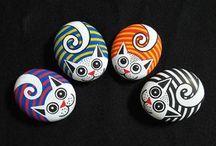 piedras gatitos